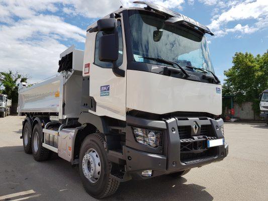 Camion 6x4 bibenne jbm - Location camion grenoble ...